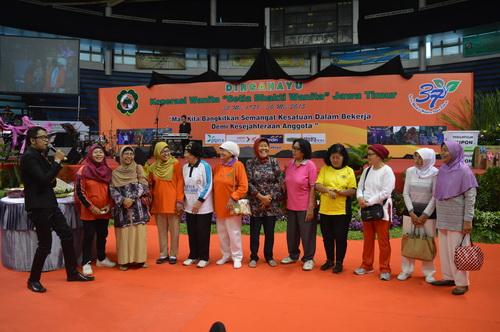 Kenangan Peringatan HUT ke 37 di DBL Surabaya