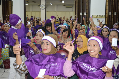 350 Anggota Ikut Beauty Class